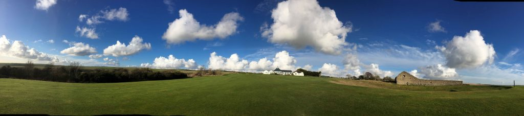 Brighton & Hove golf course. Obviously, it's my favourite