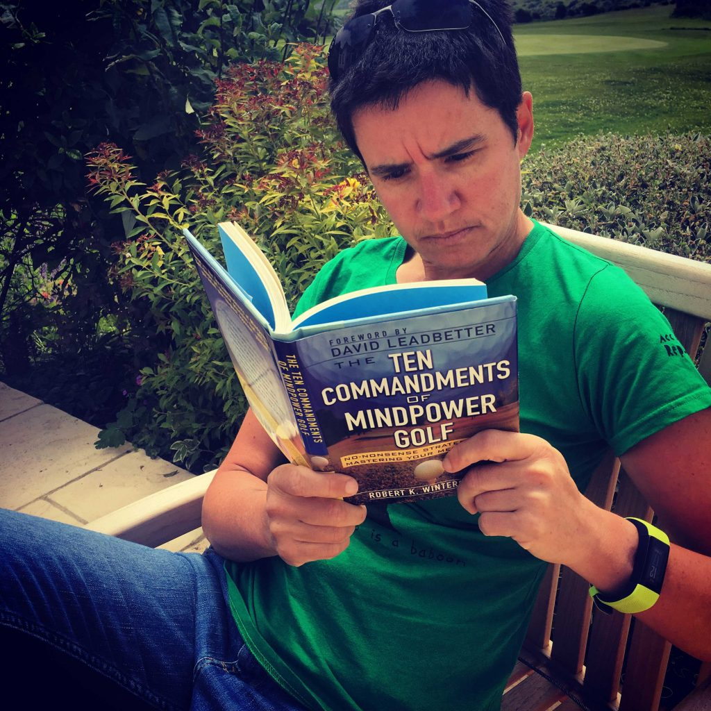 Taking a break from golf - Ten commandments of mindpower golf