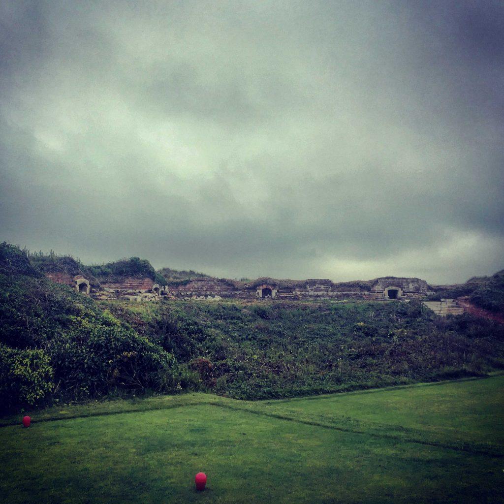 Littlehampton Golf Club - napoleonic fort