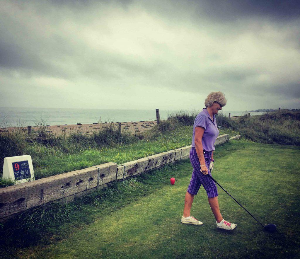 Littlehampton golf club - Susie