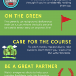 Golf etiquette: an infographic to teach new players