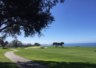 Golf under the Californian sun