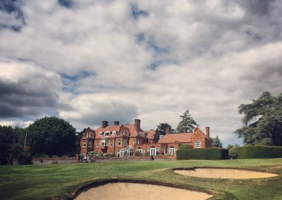 Tyrells wood golf club's gorgeous clubhouse